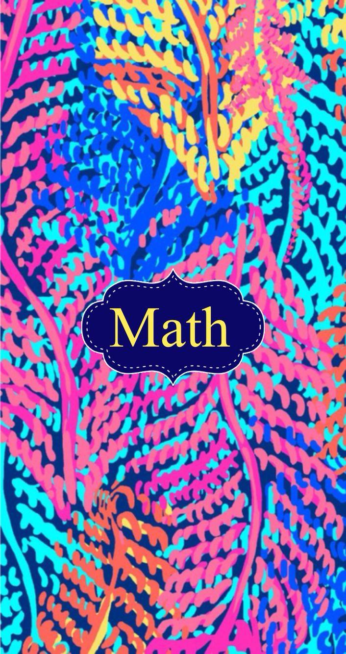 math binder cover