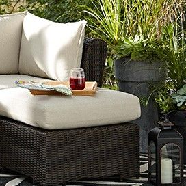 CANVAS Salina Collection Sectional Patio Ottoman | Luxe Lounge | Canadian Tire http://www.canadiantire.ca/inspiration/en/seasonal/canvas/luxe-lounge.html #MyCANVAS