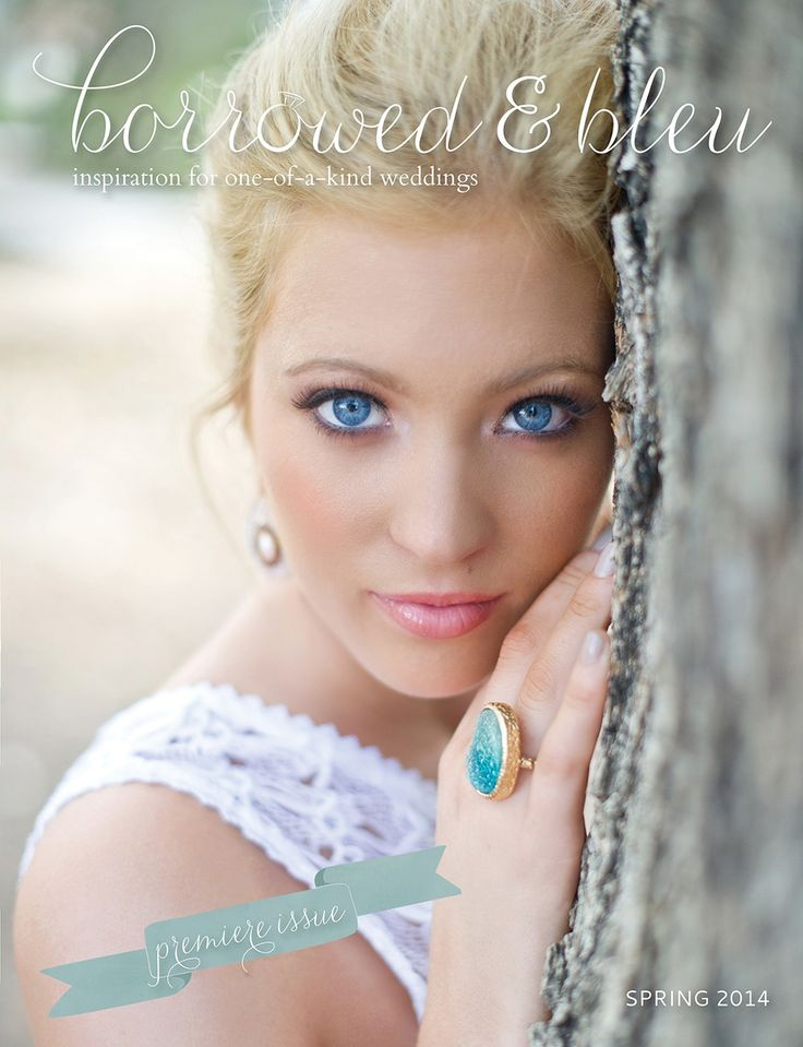 Spring 2014 Issue of Borrowed & Bleu magazine - free!