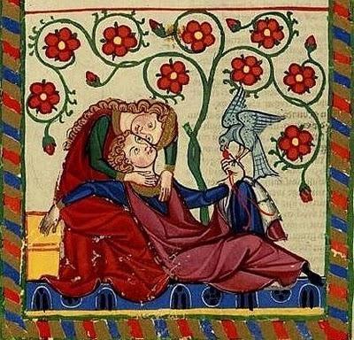 El amor en la Edad Media.