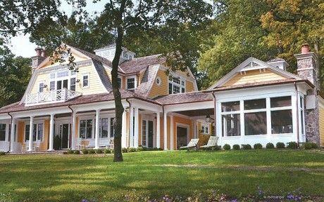 Dutch Colonial House | Lake Geneva, WI | Distinctive Dutch Colonial Home