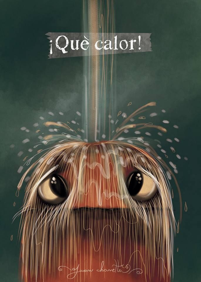 ¡Qué calor! puropelo #authres