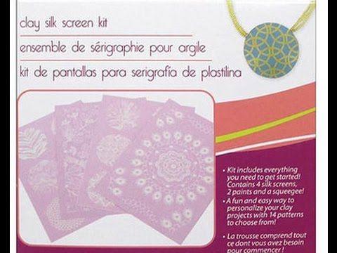 Review perles and co serigrafia su pasta polimerica con silkscreen