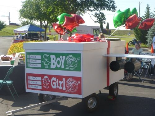 Operation Christmas Child float!