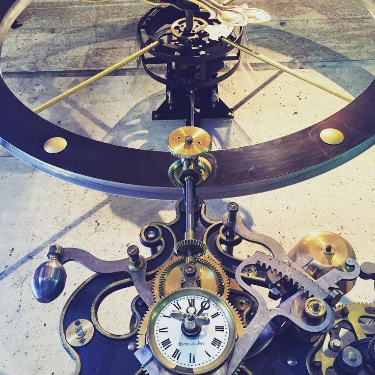 Coolest timepiece I ever did see @tokara_  wine estate.  #watch #time #clock…