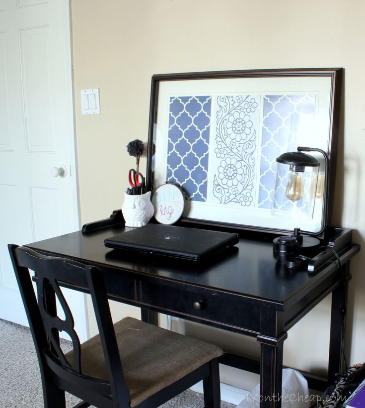 Master Bedroom Makeover via DIYontheCheap.com