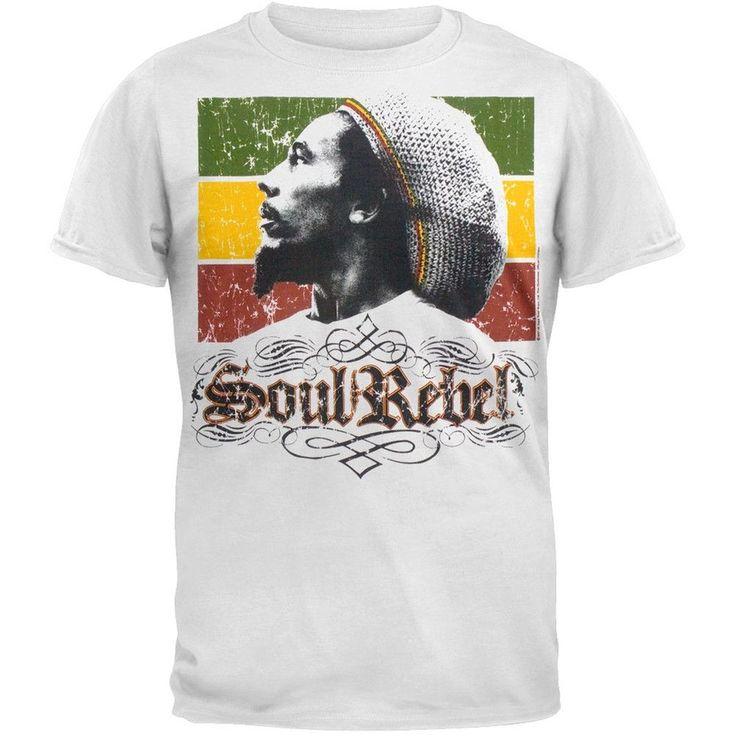 Bob Marley - Soul Rebel Rasta T-Shirt