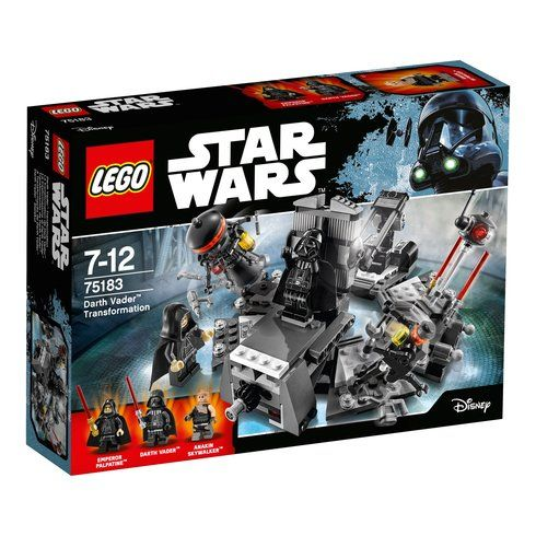 Superb LEGO 75183 Star Wars Classic Darth Vader Transformation Now At Smyths Toys UK! Buy Online Or Collect At Your Local Smyths Store! We Stock A Great Range Of LEGO Star Wars At Great Prices.