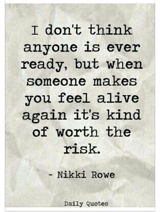 Baby steps... almost each new risk implies having to brace yourself for another monumental disappointment