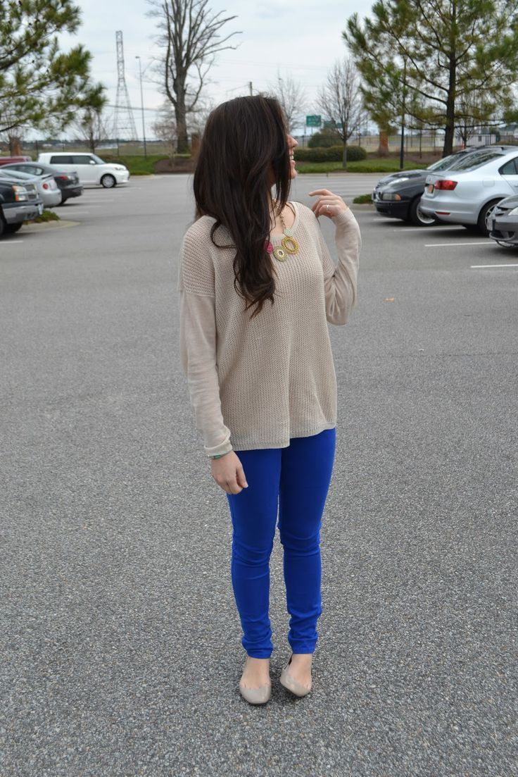 Outfit Sweater necklace nude shoes brunette hair