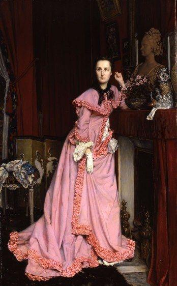 Jacques Joseph Tissot. Portrait of the Marquise de Miramon, née,  1866