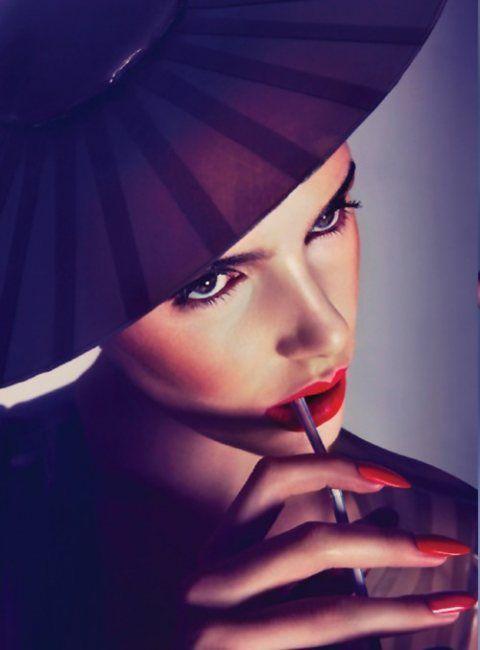 Matching Lips & Tips #beauty #nails