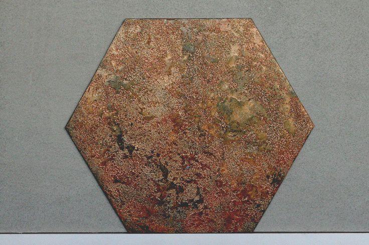 Panel ścienny tynkowany Paneletto - Hexa Earth 02