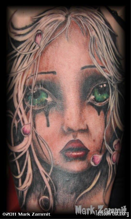 Angelina Wrona - gorgeous tattoo!!!!!