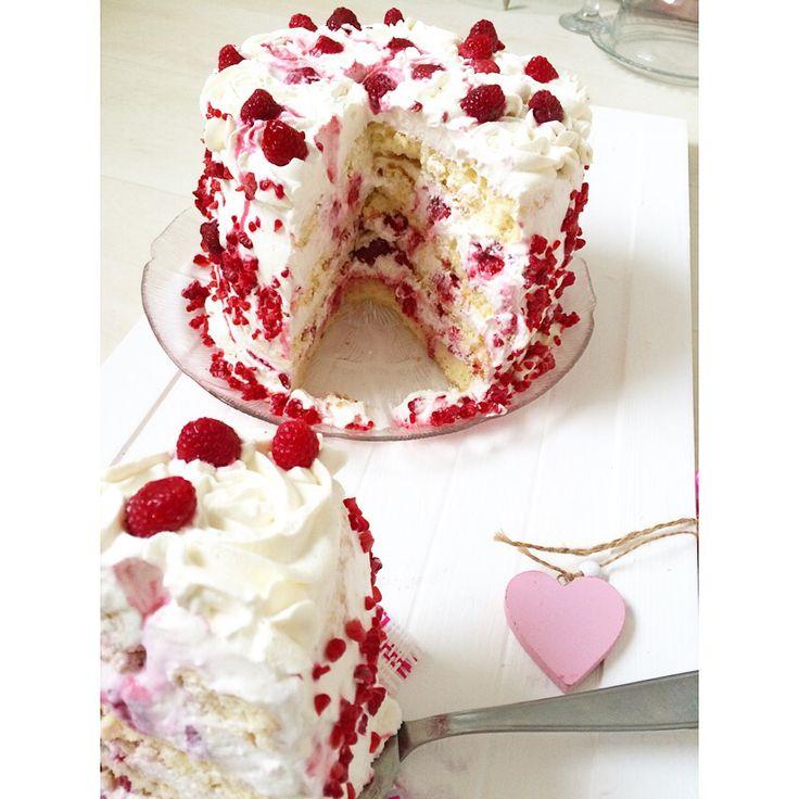 Layer Cake Vanille Framboise