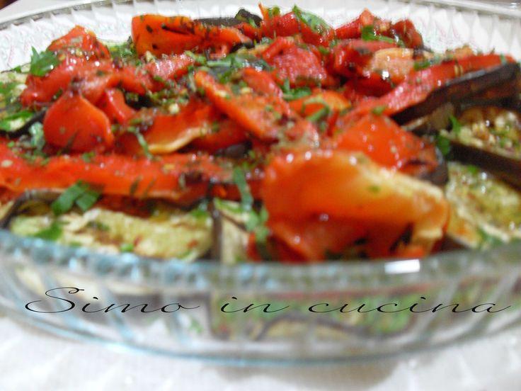 Peperoni e melanzane alla griglia http://blog.giallozafferano.it/simocuoca/peperoni-e-melanzane-alla-griglia/