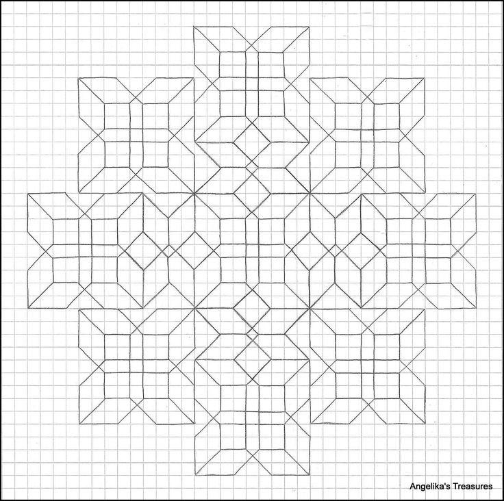 25 best dus dat images on Pinterest | Graph paper art, Mandalas and ...