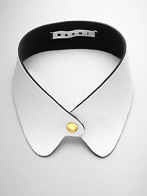 Marni Coated Collar Necklace