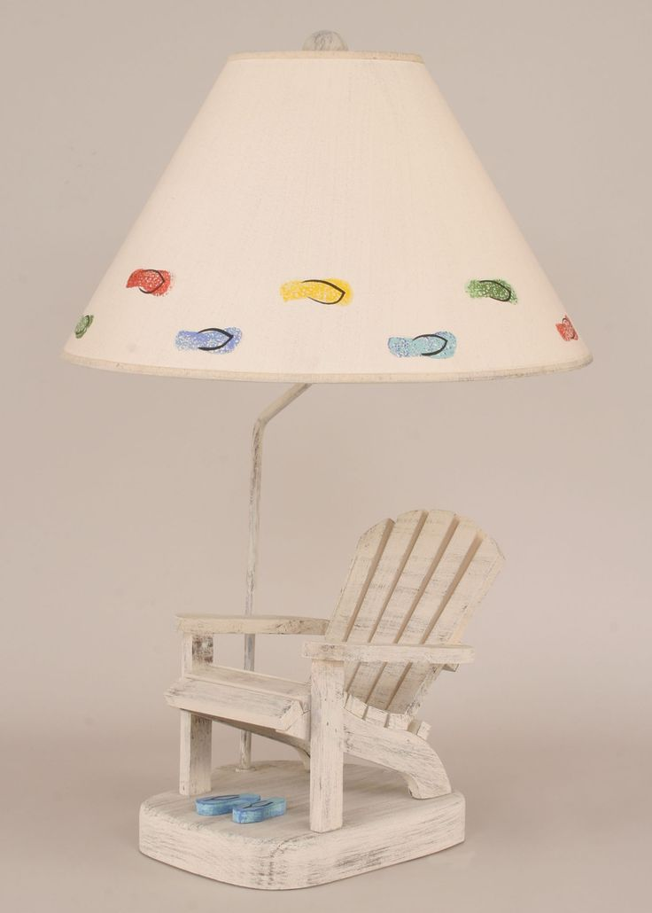 Coastal Table Lamps: Adirondack Chair w/Flip Flops . Shop today.