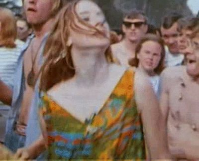 Hairy girls Vintage hippie