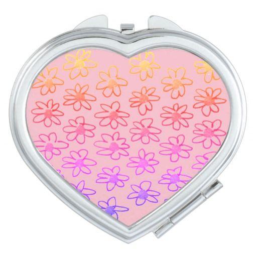 """LOVE"" designers stylish Mirror, pink Makeup Mirror"