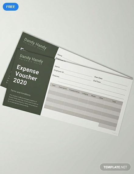 Expense Voucher Template | Get This Simple Expense Voucher Template For Your Business Download