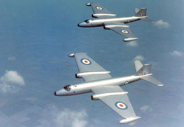 English Electric Canberra - The record-setting English Electra Canberra progressed much as a medium-to-high altitude bomber - so much so that the U.S. ordered it as the B-57.