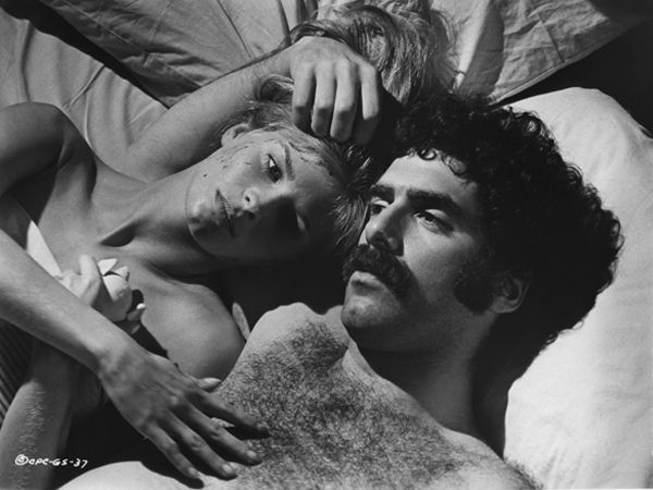 Elliott Gould. I want to shrink down to the size of a thimble & frolic on his chest like a young lamb in the springtime.: 1970 79, Straight