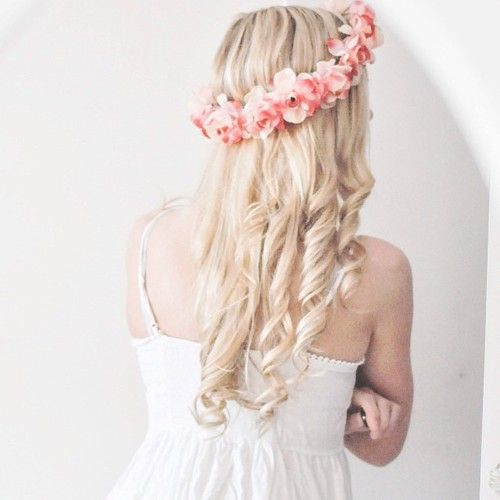 56 best flower crown hairstyles for coachella images on