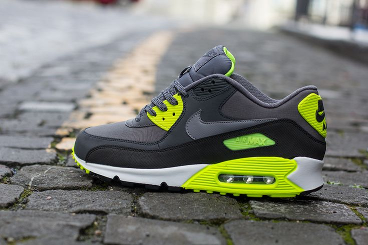 Cool Stuff We Like Here @ CoolPile.com ------- << Original Comment >> ------- Nike Air Max 90 | Grey, Anthracite & Volt