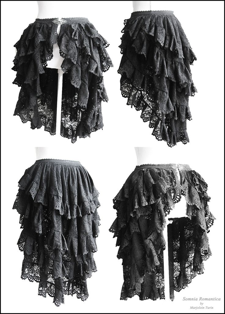 bustle skirt Somnia Romantica by Marjolein Turin by SomniaRomantica.deviantart.com on @deviantART