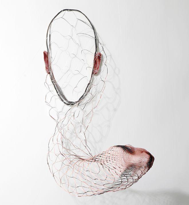 Artist Laser Cuts Portrait Photographs to Form Surreal Sculptures - My Modern Met