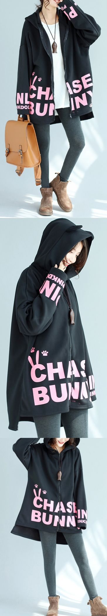 baggy-loose-black-cotton-hooded-coats-winter-prints-outwear