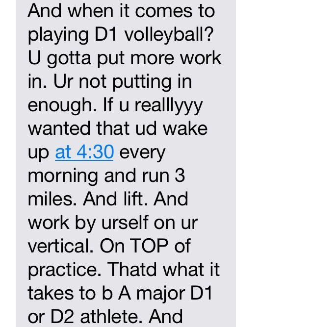 Volleyball motivation