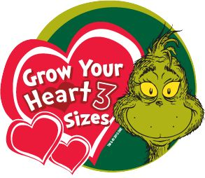 Grow Your Heart 3 Sizes Grinch-mas Event   This might make a cute ornament.