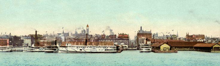 Toronto skyline, 1901.