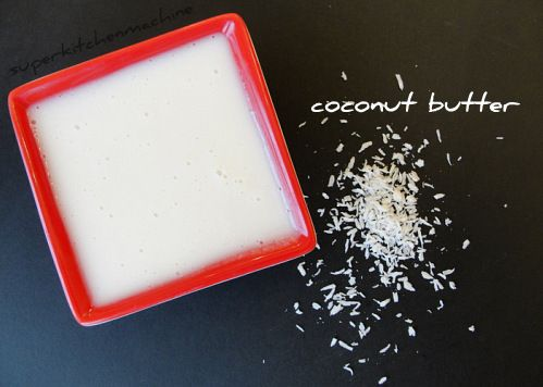 How to make your own coconut butter recipe from dried coconut flakes