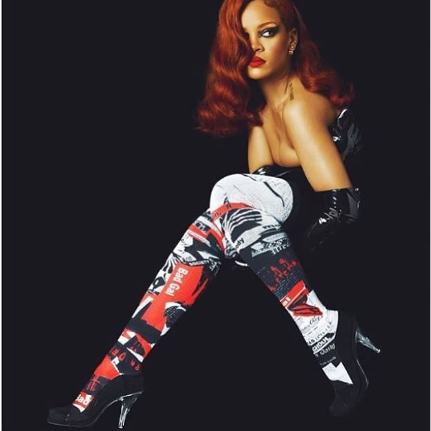 Rihanna X Stance - Rihanna Named Contributing Creative Director For The Sock Company - http://urbangyal.com/rihanna-x-stance-rihanna-named-contributing-creative-director-for-the-sock-company/