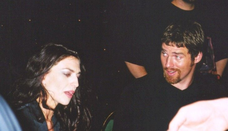 Yet more from 2000 Farscape Convention !Ben Browder with Claudia Black, Brian Henson, and Kent McCord . Photos courtesy of Bob T