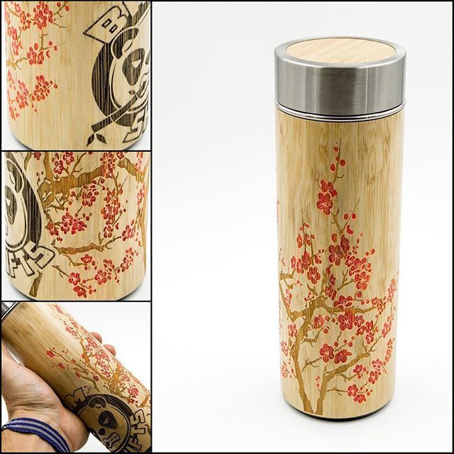 【bamshifts】さんのInstagramをピンしています。 《Hand painted Cherry Blossoms BAM SHIFTS Thermos's!!!👌👌🐼 ⠀ Up on the store @ http://www.BAMSHIFTS.com⠀ ⠀ #bamshifts #bamshift #bamboo #shiftknobs #shifter #handmade #custom #panda #stayfresh #subaru #mazda #nissan #honda #toyota #ford #scion #hyundai #acura #drift #rally #bam #volkswagen #jdm  #stayfreshmyfriends #japan #makeshiftingfun #rallycar #sosick #cherryblossoms》
