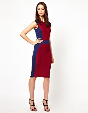 A Wear Body-Conscious Pencil Dress