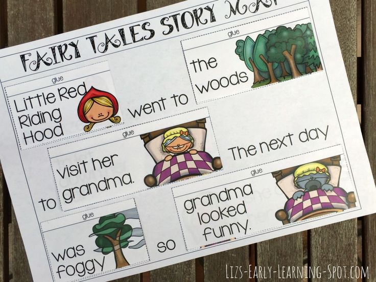 This free Fairy Tales Story Mat helps children with their reading and encourages them to creatively reimagine Fairy Tales!