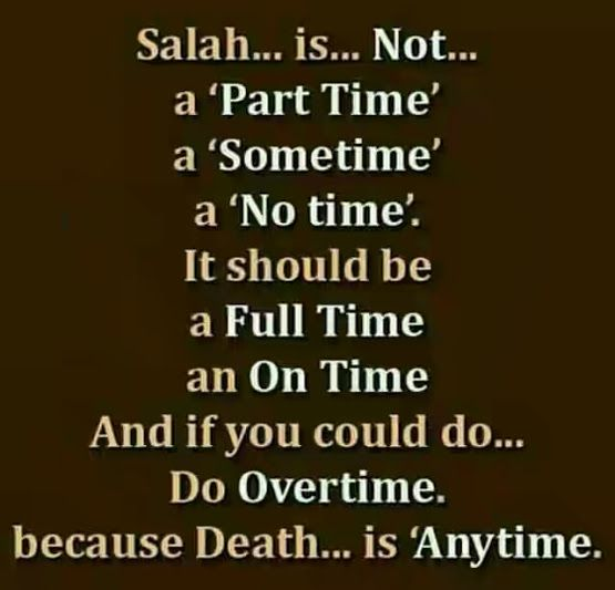 Salah Namaz Heart Break Quote. http://www.islamic-web.com/namaz-salat/complete-information-list-of-salah/