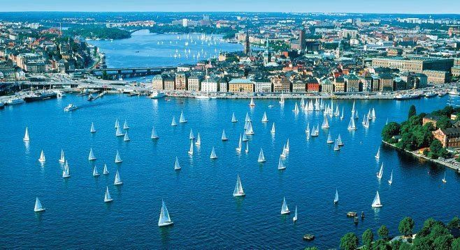Stockholm and it's abundance of water!