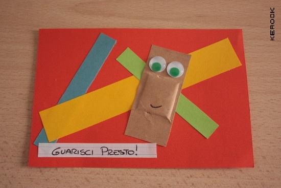 guarisci presto, get well soon, card by kerook