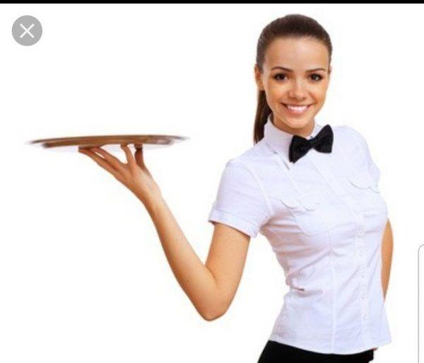 Работа девушка официантка самая высокооплачиваемая работа для девушек в мире