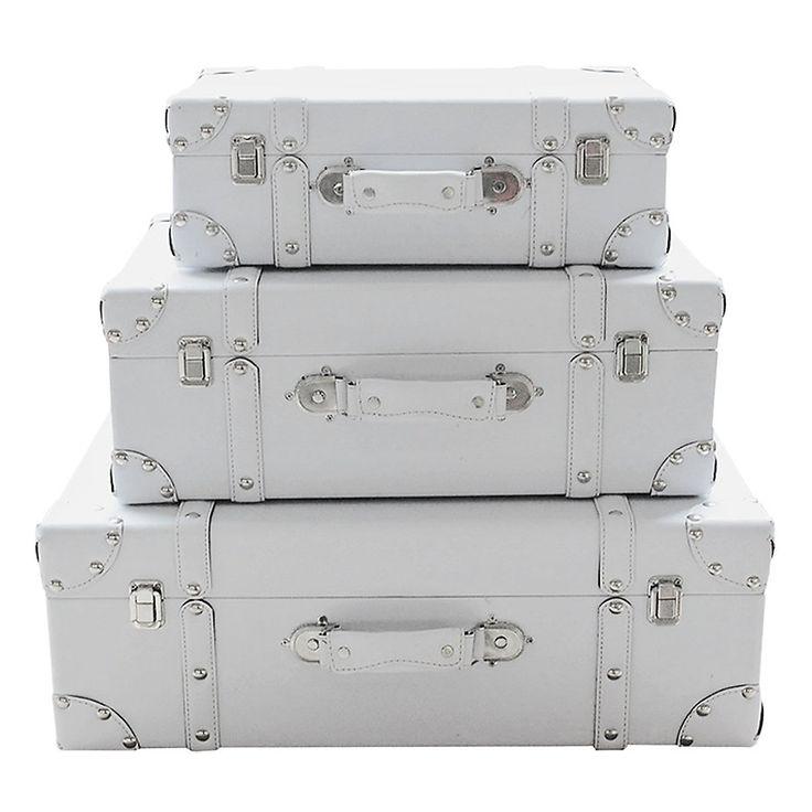 Set de 3 maletas decorativas-Homy.cl