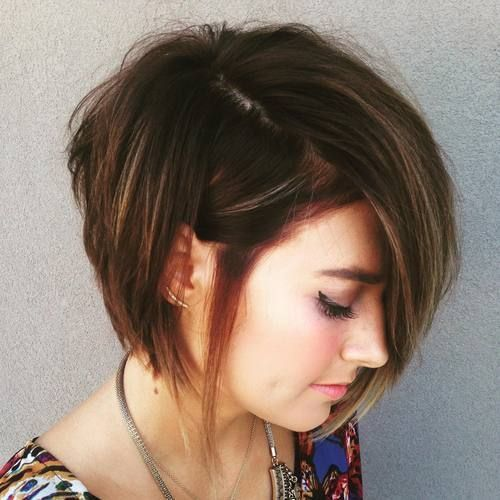 Trendy Asymmetrical Choppy Bob Haircuts