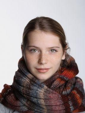 CANOE Шарф-снуд MARISSA коричневый
