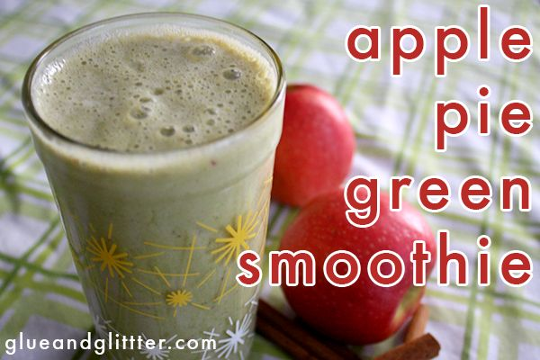 Apple Pie Green Smoothie: Challenge Check-In #5